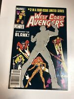 West Coast Avengers (1984) # 2 (NM) Canadian Price Variant CPV !