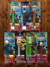 New listing New Lot Of 7 Pez Candy Dispenser Disney Mickey Mouse Muppets Goofy Pluto Kermit
