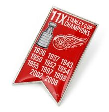 DETROIT RED WINGS - CHAMPIONS - LAPEL/HAT PIN - BRAND NEW - NHL-PN-1064-23