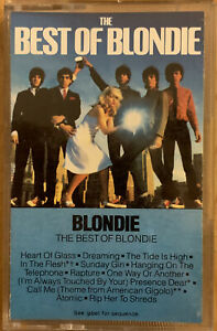 The Best Of Blondie cassette 1981 Columbia House Heart Of Glass Rapture Call Me