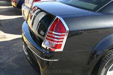 Fits 2005 2007 Chrysler 300 Chrome Tail Light Bezel Cover Trim Fits Chrysler 300