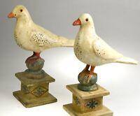 wunderschöne antike museale Altar Tauben gut erhalten alter Sammlung Frankreich