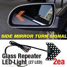 Side Mirror Turn Signal View Glass Curve Repeater LED Module 2Pcs for DODGE Car