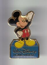 RARE PINS PIN'S .. DISNEY PARIS FRANCE 1992 HOME VIDEO SOURIS MICKEY MOUSE ~17