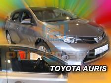 Wind Deflectors TOYOTA AURIS II Hatchback Estate 5-doors 2013-onwards 2-pc HEKO