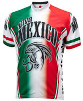 Viva MEXICO RETRO Cycling BIKE Jersey Shirt Tricot Maillot