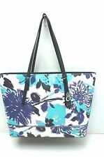 GUESS Women's Handbag*Ballina*Purple/White/Blue Floral Shoulder Purse New