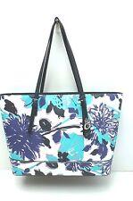 GUESS Women's Handbag*Ballina*Purple/White/Blue Floral Shoulder Purse New