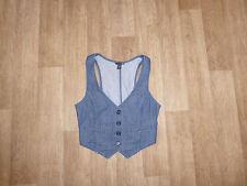 H&M Weste Jeansweste Blau Gr.38 **w.NEU**