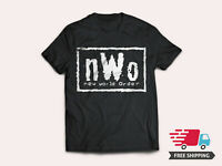 WWE WCW nWo New World Order Men's Black Cotton T-Shirt Sizes S-5XL - NEW