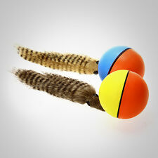 Funny Alive Dogs Cat Weasel Jumping Moving Rolling Pet Ball Toy