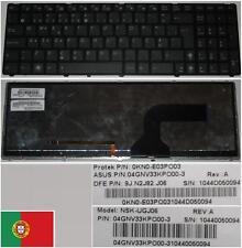 Clavier Qwerty PO Portugais ASUS G60 NSK-UGJ06 0KN0-E03PO03 9J.N2J82.J06 Backlit