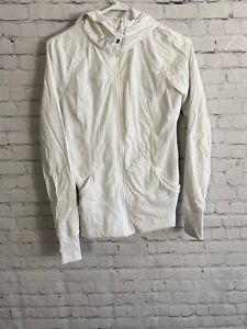 Lululemon Windbreaker Jacket White Size 12