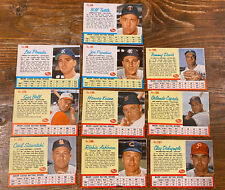 Lot of 10 - 1962 Post Cereal Baseball Cards