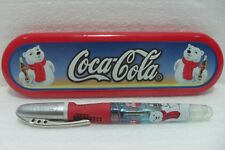 Coca-Cola - PENNA CERAMIC ROLLER BALL PEN - SCATOLA di LATTA