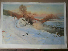 alte Lithographie Joseph Farquharson       Frost & Reed   1912