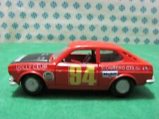 Vintage -  FIAT 128 SL Rally  - 1/43 Mercury 316 - Made in Italy 1973