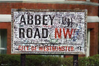 "Beatles Abbey Road NW8 Studio City of Westminster Poster 24"" X 36"""