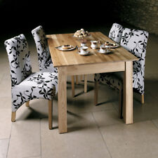 Baumhaus Mobel Oak Dining Table (4/6 Seater) - Solid Oak - 150cm 5FT