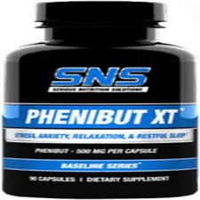 Serious Nutrition Solutions SNS Phenibut-XT (500mg - 90ct.) Brand New 2019