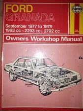 FORD GRANADA Manuale Haynes