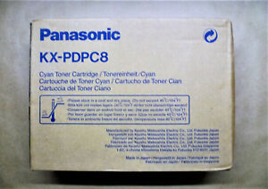 Original Panasonic KX-PDPC8 Cyan For KX-P8415 - 10000 Pages IN Unopened Boxed