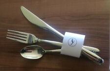 LH Lufthansa Besteck-Set 4-teilig Löffel Gabel Messer Serviette