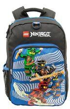 """Lego Ninjago 16"""" Backpack 4 Ninjas Bag School Travel Kai Jay Cole Lloyd NWT"""