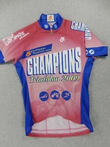Champion Systems Triathlon 2009 Cycling Jersey (Womens Small) Pink