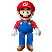 "Super Mario Brother Airwalker 60""Jumbo Foil Balloon Birthday Party Supplies AWK"