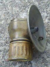 Antique Justrite Carbide Miner's Lamp.