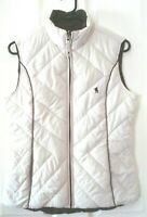 THOMAS COOK DOUBLE SIDED WOMENS VEST SIZE XS BROWN/BEIGE FREE POSTAGE