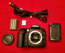 ~ 7K Clicks! US Model Nikon D90 12.3MP DX Format Digital SLR Camera Black Body