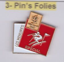 Pin's Folies Badge Albertville Olympic winter games 1992 Les Menuires Special