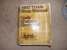 OEM 1983 Ford Truck Shop Manual Body,Chassis,Electrical