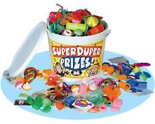 Super Duper Prize Bucket Assorted Fun Toys Games Motivation Rewards Prizes Party