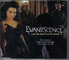 Evanescence-Call me When Youre Sober Promo cd single