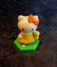"TOMY HELLO KITTY FIGURE ""HOLDING A GLASS"" NEW"