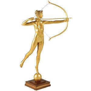 Diana Artemis Sculpture by Augustus Saint-Gaudens museum replica