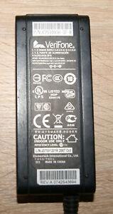 Genuine Verifone Au-7992n AC/DC 100-240 Dual Power Adapter for VX Terminal