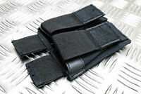 Military /Police/ Security Forces Type UTG Cordura Twin Mag Clip Holder Pouch