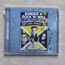 "CD AUDIO MUSIQUE/ VARIOUS ""KINGS OF ROCK 'N' ROLL VOL.2""CD COMPILATION 2010 NEUF"