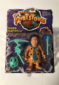 VTG THE  FLINTSTONES  HARD HAT FRED  THE FLINT STONES 1993 Mattel  NIP