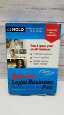 Quicken Legal Business Pro Contracts & Forms