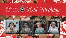Canouan Gren St Vincent 2016 MNH Queen Elizabeth II 90th Birthday 4v M/S Stamps