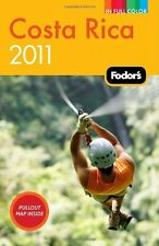 Fodors Costa Rica 2011 (Full-color Travel Guide)