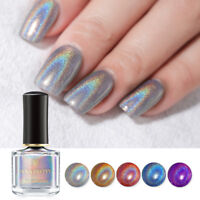 BORN PRETTY 6ml Holographicss Nail Polish Laser Glitter Shining Nail Art Varnish