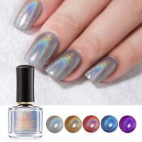 BORN PRETTY 6ml Holographic Nail Polish Laser Glitter Shining Nail Art Varnish