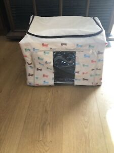 Canvas Mini Dog Carrier - Folds Down For Storage - Ideal For Holidays