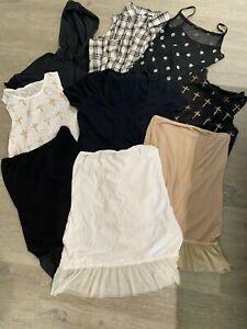 lotto stock abbigliamento donna usato canotte maglia S Tezenis Intimissimi